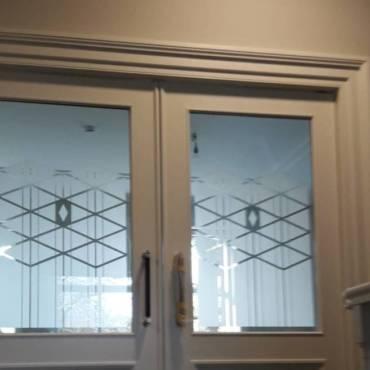 Binnendeuren met etslglas